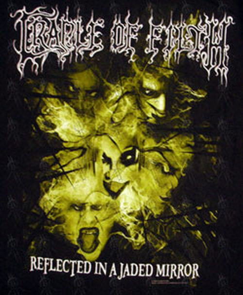 Cradle Of Filth Black Reflected In A Jaded Mirror Long