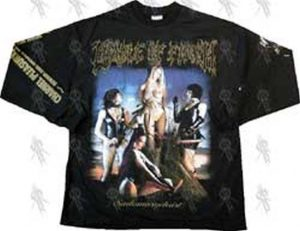 CRADLE OF FILTH - Black 'Sadomasochrist (Sin To Be Forgiven)' Long-Sleeved T-Shirt - 1