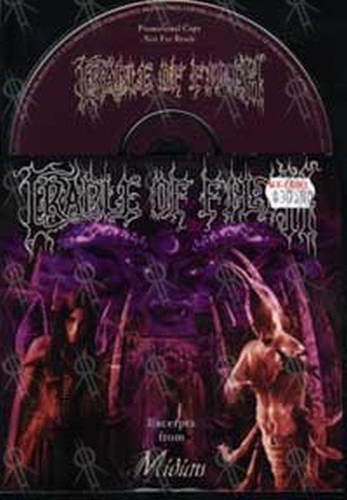 CRADLE OF FILTH - Excerpts From Midian - 1