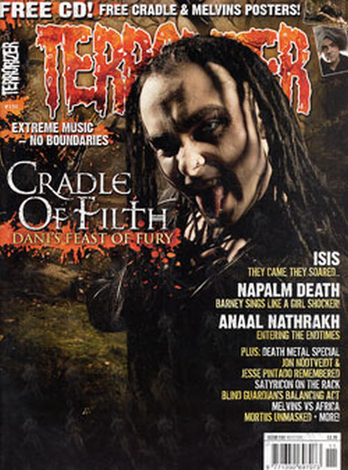 Cradle Of Filth Terrorizer Issue 150 November 2006