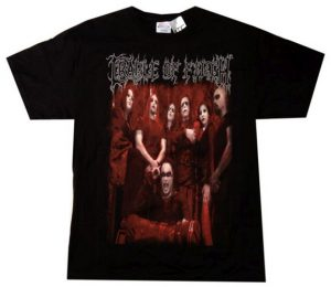 CRADLE OF FILTH - Tournography 2007 US Tour Black T-Shirt - 1