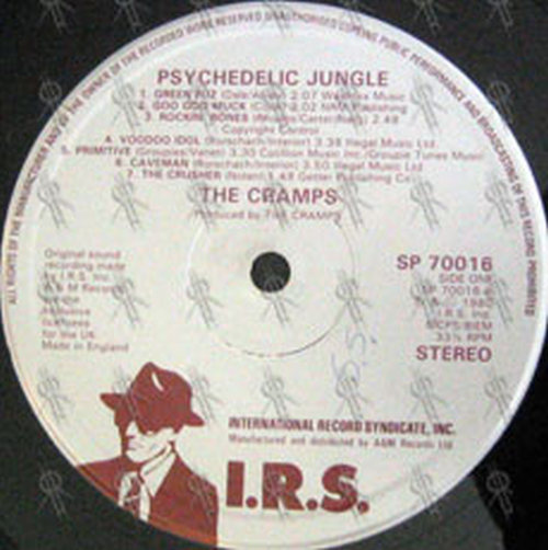 Cramps The Psychedelic Jungle 12 Inch Lp Vinyl