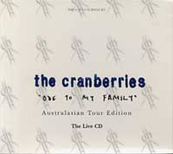 CRANBERRIES-- THE - Ode to My Family - 1
