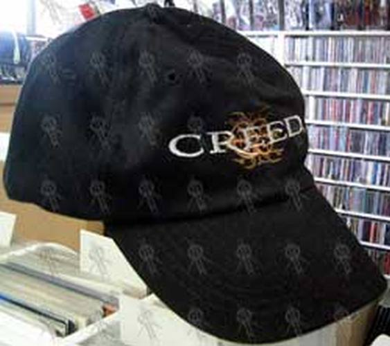 CREED - Black Embroidered Cap - 1