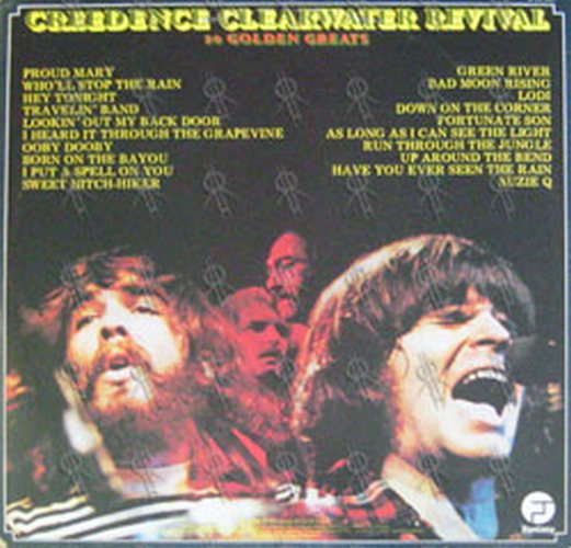 creedence clearwater revival 20 golden greats 12 inch lp vinyl rare records. Black Bedroom Furniture Sets. Home Design Ideas