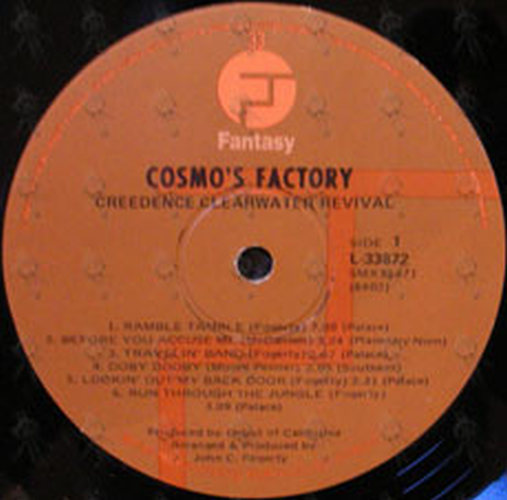 Creedence Clearwater Revival Cosmo S Factory 12 Inch