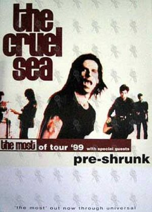 CRUEL SEA-- THE - 1999 Tour Poster - 1