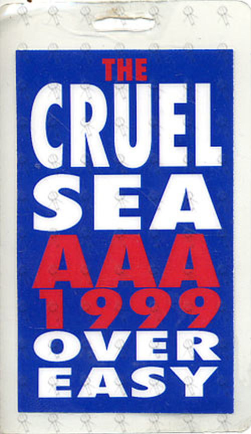 CRUEL SEA-- THE - 'Over Easy' 1999 Australian Tour AAA Laminate - 1