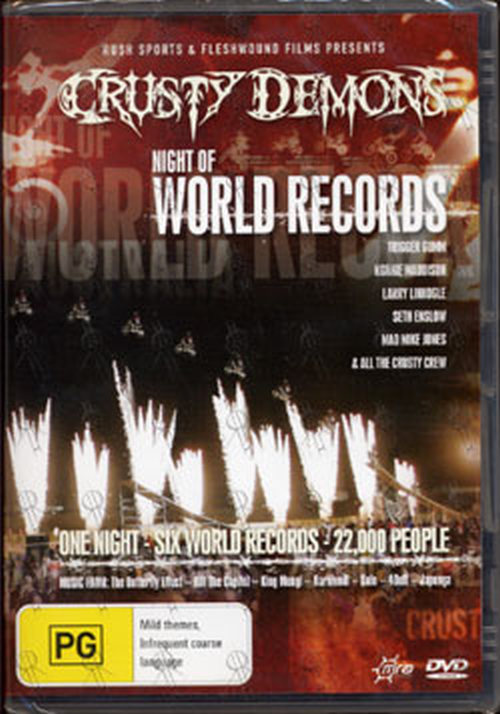 CRUSTY DEMONS - Crusty Demons: Night Of World Records - 1