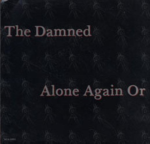 DAMNED-- THE - Alone Again Or - 1
