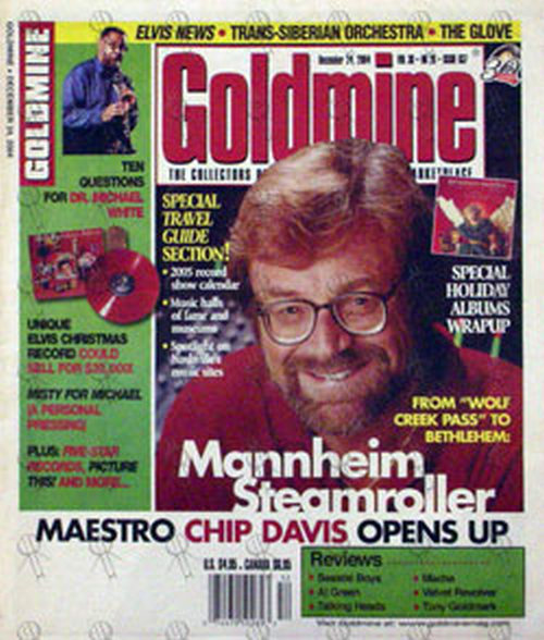 DAVIS-- CHIP - 'Goldmine' - December 24