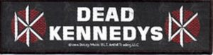 DEAD KENNEDYS - Logo Embroidered Patch - 1