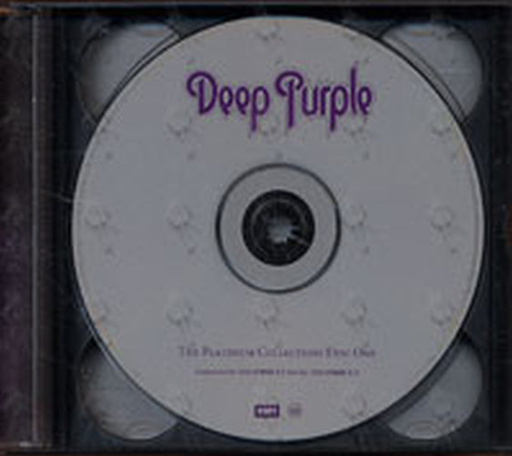 Deep Purple The Platinum Collection Album Cd Rare