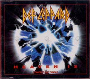 DEF LEPPARD - Heaven Is - 1