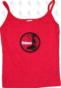 DEFTONES - Red Girls Singlet - 1