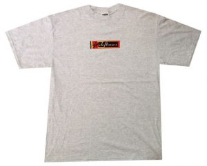 DEFTONES - Star Flag Logo Grey T-Shirt - 1