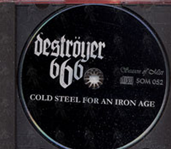 Destroyer 666 Cold Steel For An Iron Age Album Cd