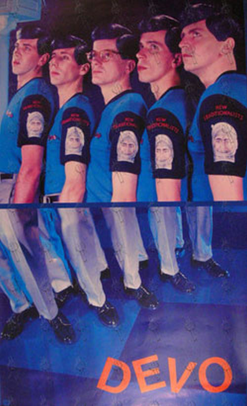 Devo New Traditionalists Era Promo Poster Posters