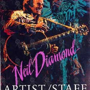 DIAMOND-- NEIL - 1992 Tour Artist/Staff Pass - 1