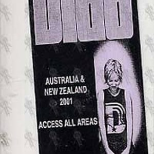 DIDO - Australia & New Zealand Access All Areas 2001 Tour Laminated Pass - 1