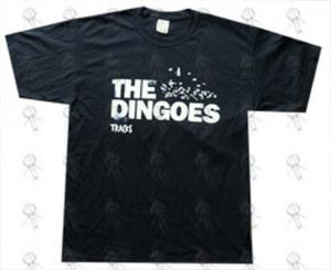 DINGOES-- THE - 'Tracks' 2010 Bird Design Oz Tour Black T-Shirt - 1