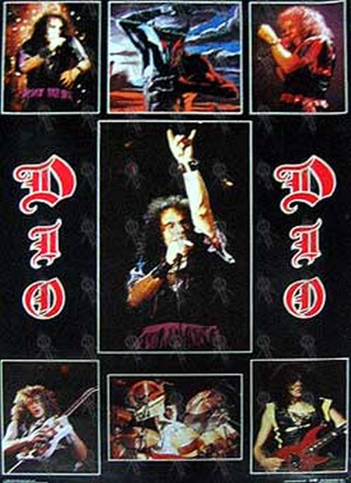 DIO-- RONNIE JAMES - 'Holy Diver' Album ...