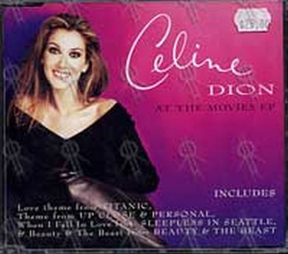 DION-- CELINE - At The Movies EP - 1