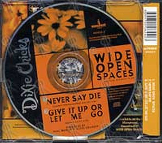 DIXIE CHICKS - Wide Open Spaces - 2