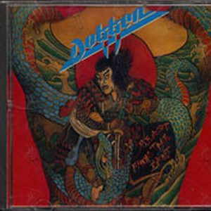 Dokken Up From The Ashes Album Cd Rare Records