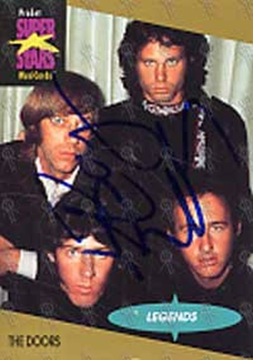 DOORS-- THE - Super Stars MusiCard Collector Card - 1