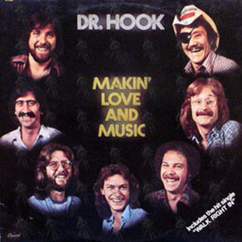 Dr Hook Makin Love And Music 12 Inch Lp Vinyl