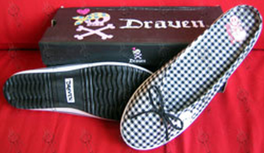 DRAVEN - Black 'Plaidical' Women's Slides - 1