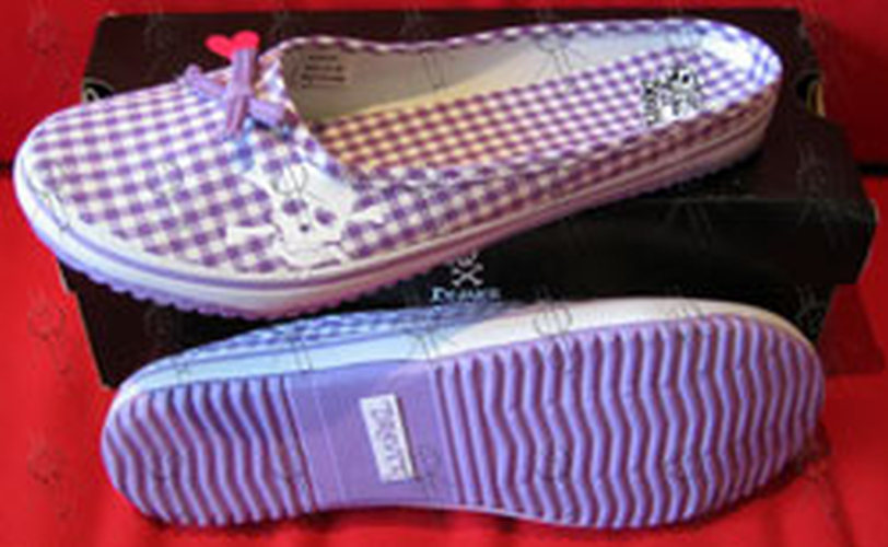 DRAVEN - Purple 'Plaidical' Women's Slides - 1