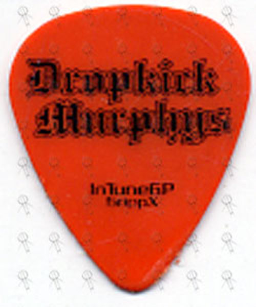 DROPKICK MURPHYS - Orange James Lynch Signature Guitar Pick - 1