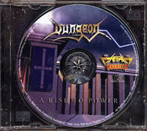 Dungeon A Rise To Power Album Cd Rare Records