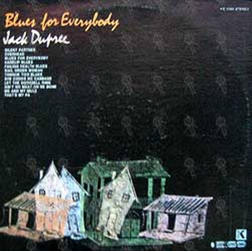 DUPREE-- JACK - Blues For Everybody - 1