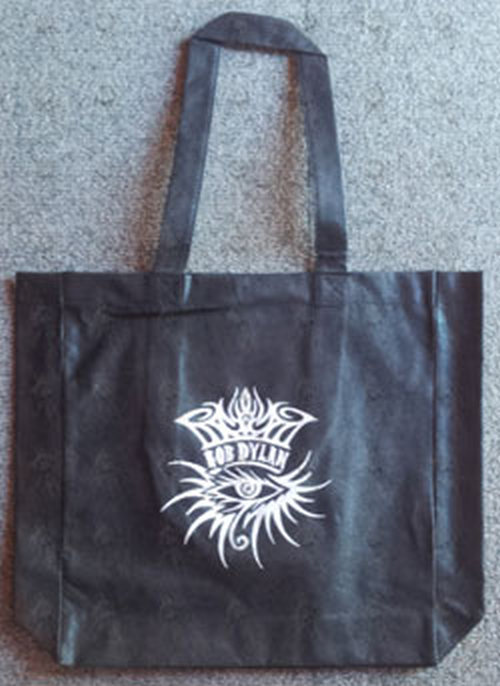 DYLAN-- BOB - Black Tote Bag - 1