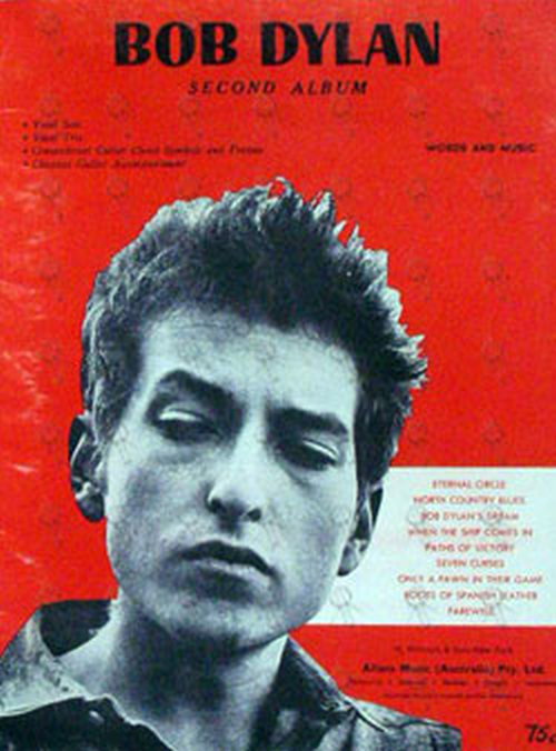 DYLAN-- BOB - Second Album - 1