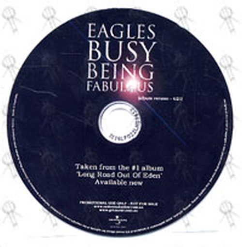 EAGLES-- THE - Busy Being Fabulous (album version) - 1