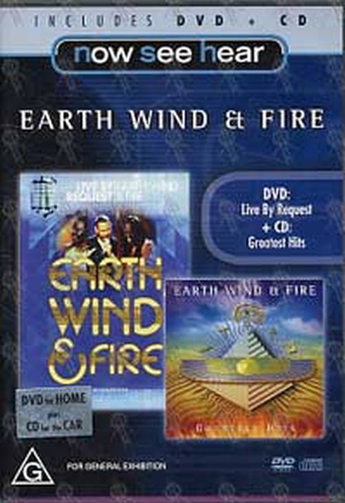 EARTH-- WIND & FIRE - Live By Request/Greatest Hits - 1