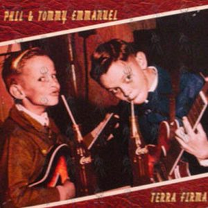 EMMANUEL-- PHIL & TOMMY - 'Terra Firma' Double Sided 12 Inch Album Promo Flat - 1