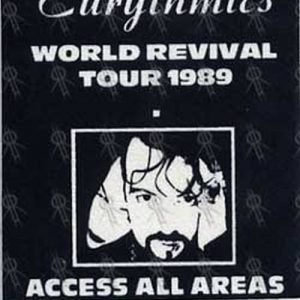 EURYTHMICS - 'World Revival' 1989 Tour Access All Areas Pass - 1