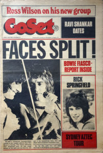 FACES - 'GoSet' - 2nd June 1973 - Volume 8 - Number 22 - Faces On Cover - 1