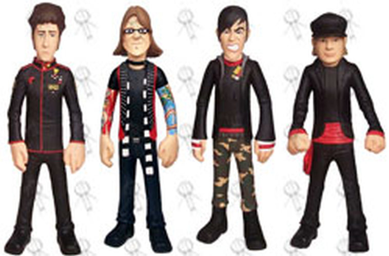fall out boy action figure set 5