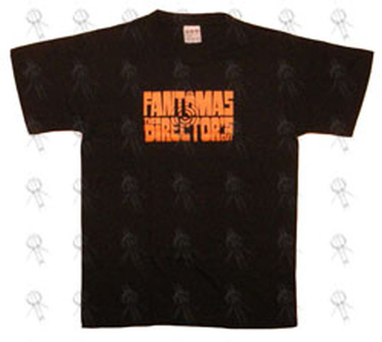 FANTOMAS - Black 'Directors Cut' Design Australian Tour T-Shirt - 1