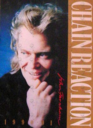 FARNHAM-- JOHN - Chain Reaction 1990-91 Australian Tour Progam - 1