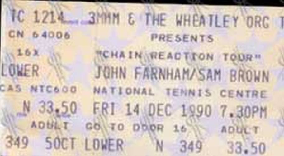 FARNHAM-- JOHN - National Tennis Centre