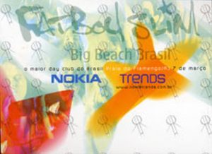 FATBOY SLIM - Nokia 'Big Beach Brasil' Postcard - 1