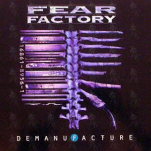 FEAR FACTORY - 'Demanufacture' 12 Inch Album Promo Flat - 1