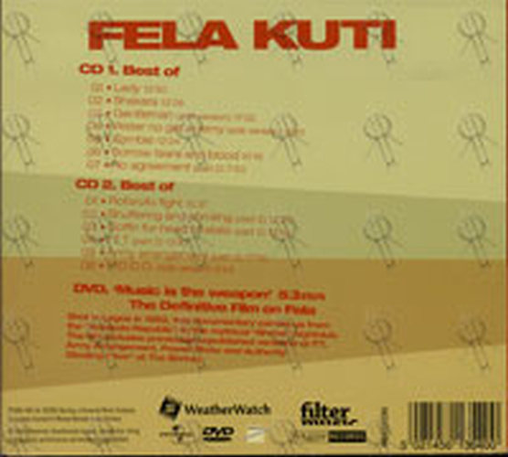 FELA KUTI - Music Is The Weapon (CD, CD / DVD) | Rare Records
